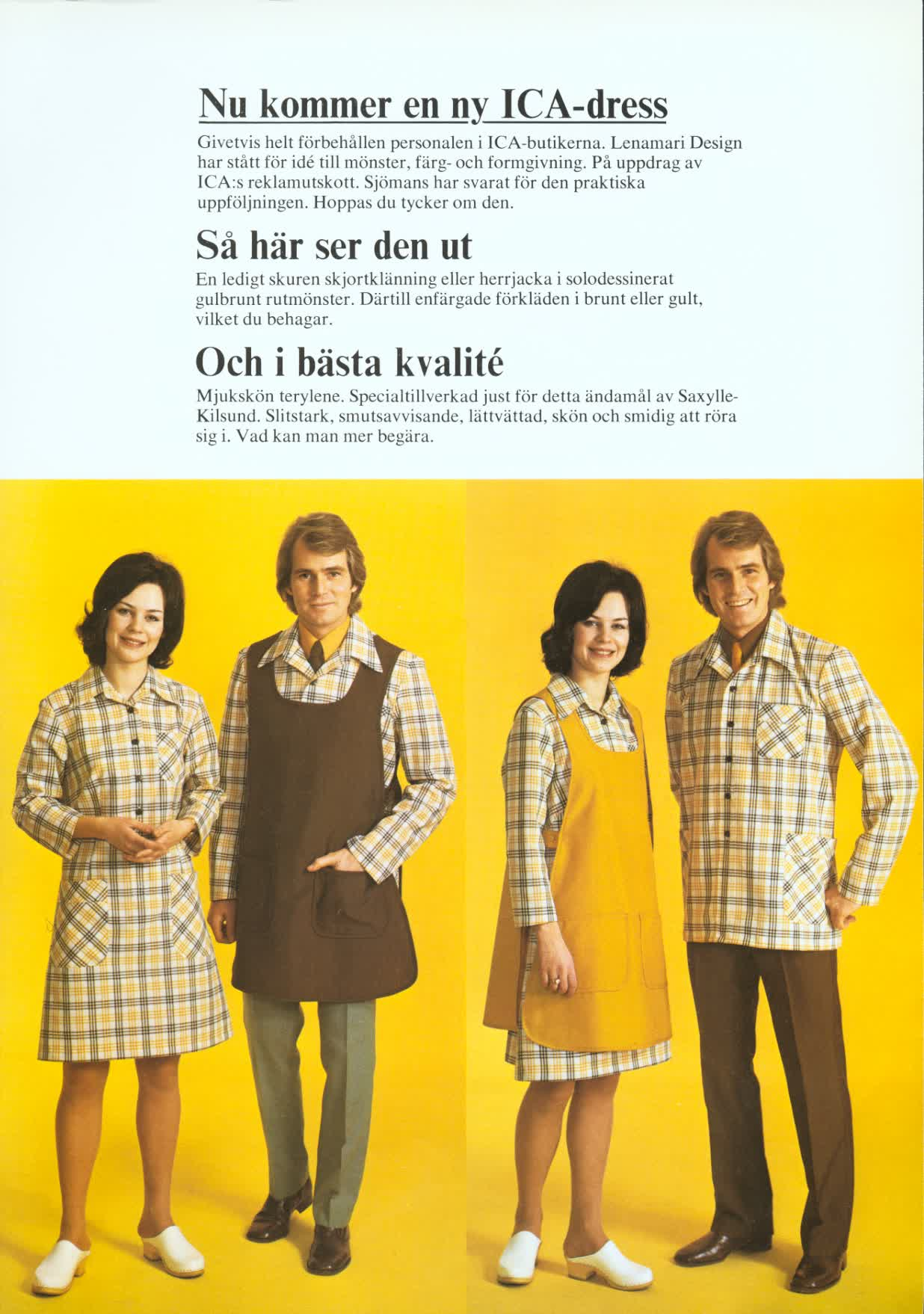 6baa68be58ca Biträdets nya kläder - ICA-historien