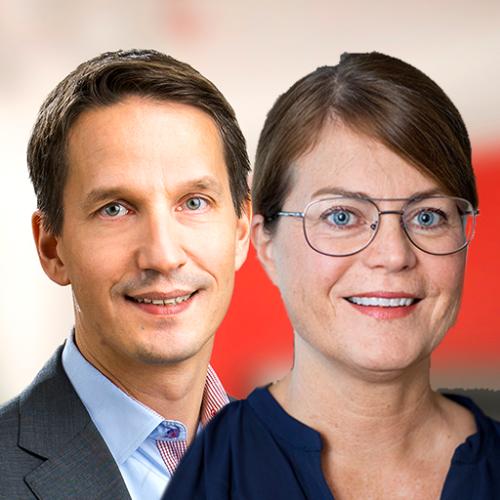 Björn Olsson och Eva Burén